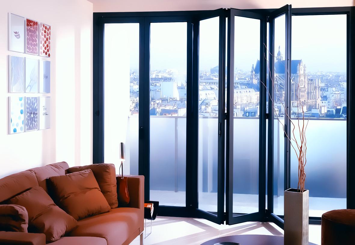 Cerramientos plegables aluminio ml grupo - Cerramientos plegables de vidrio ...
